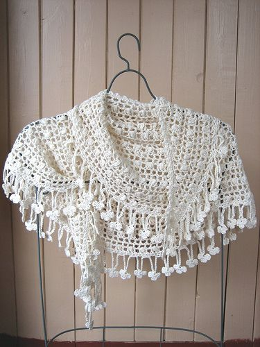 Crescent Moon Shawl.  Crochet pattern from an out of print Japanese book - :((  Anyone have this and kind enough to share it??