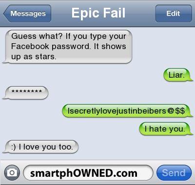 Epic Fail Boyfriend Text Messages Epic Fail Text Messages Epic
