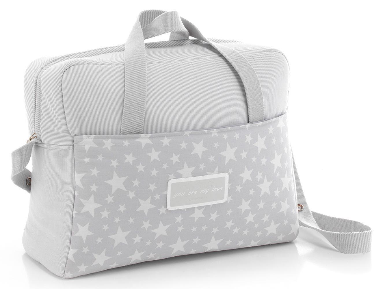 Cambrass Star Maternity Bag Grey | Mamsen & Mini | Pinterest
