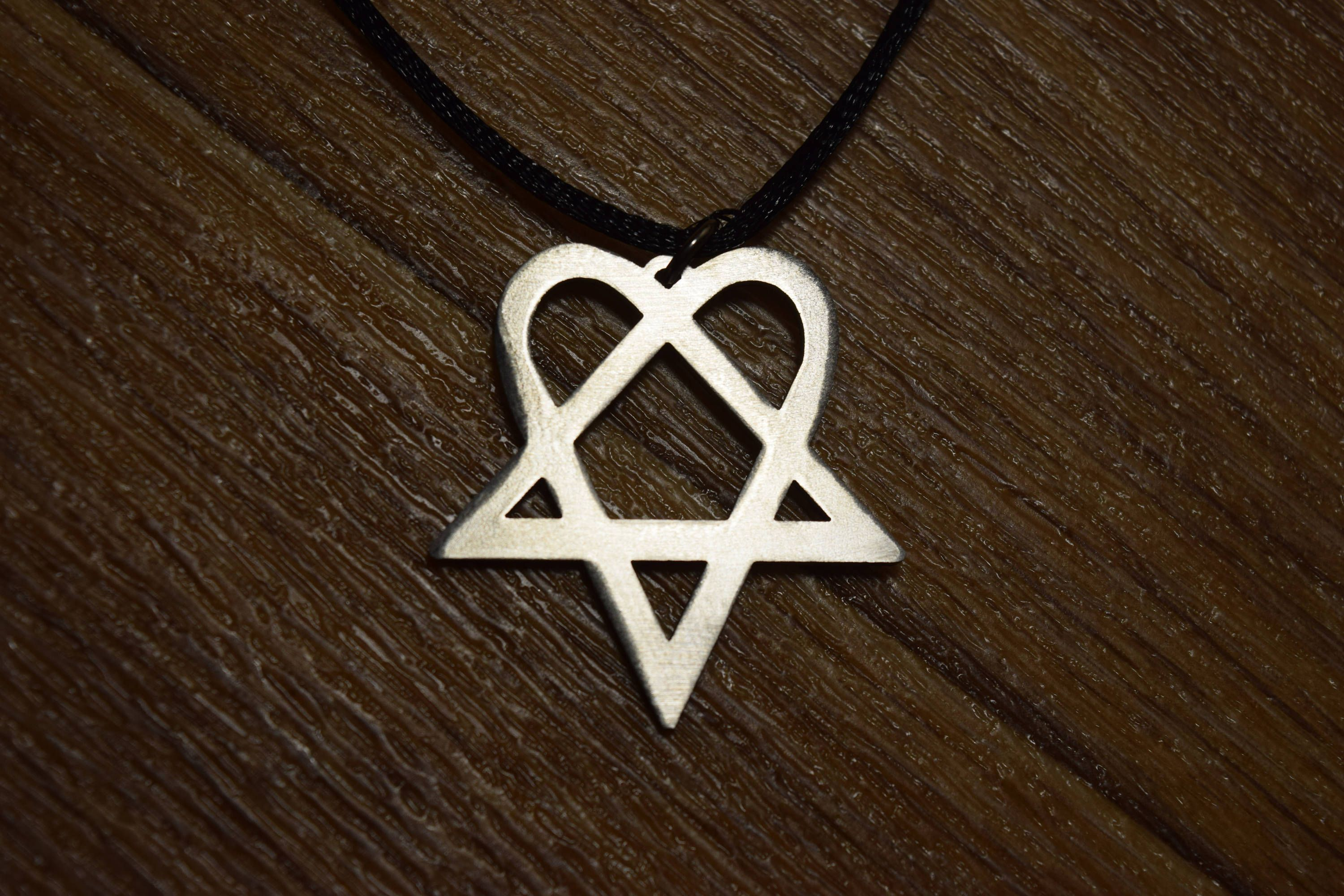 Him heartagram necklace pendant symbol talisman choker sharm amulet him heartagram necklace pendant symbol talisman choker sharm amulet medallion talisman sin pin pins sign by steeljewerly on etsy aloadofball Image collections