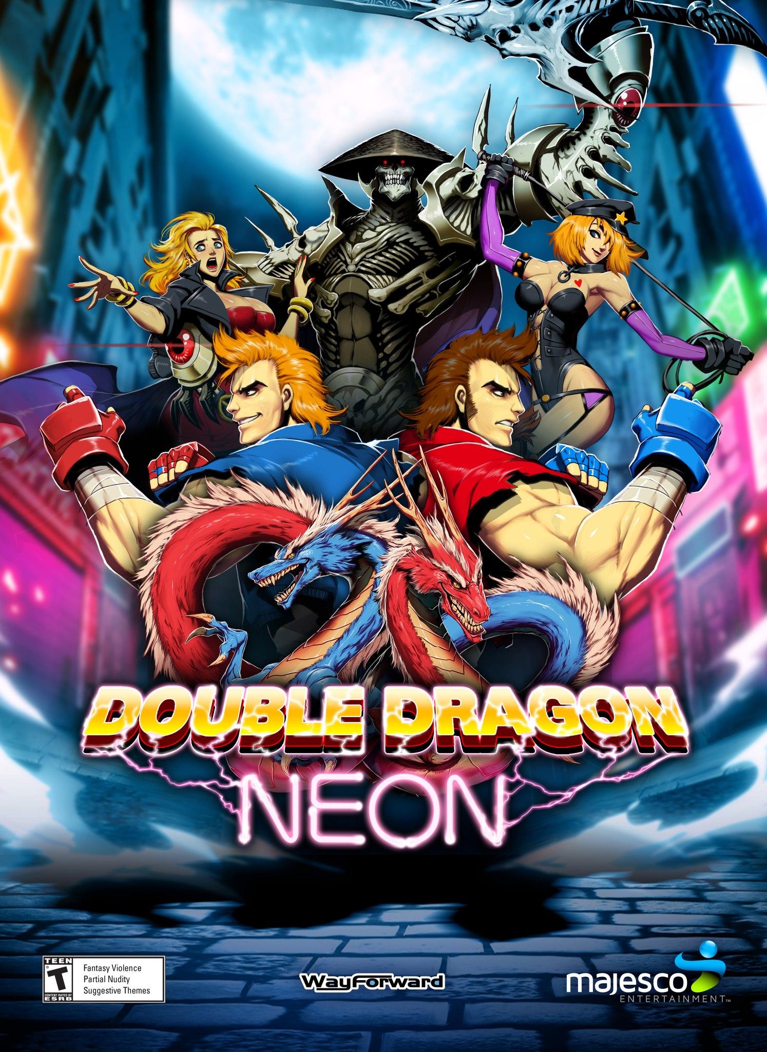 Double Dragon Neon Ps3 Double Dragon Dragon Nerd Games