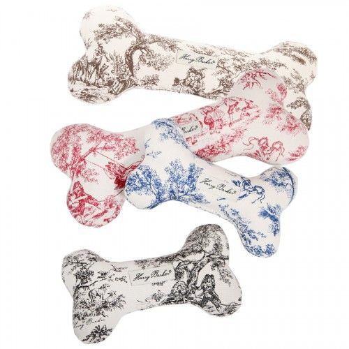 Toile Bone Dog Toy Harry Barker Small Dog Toys Dog Toys