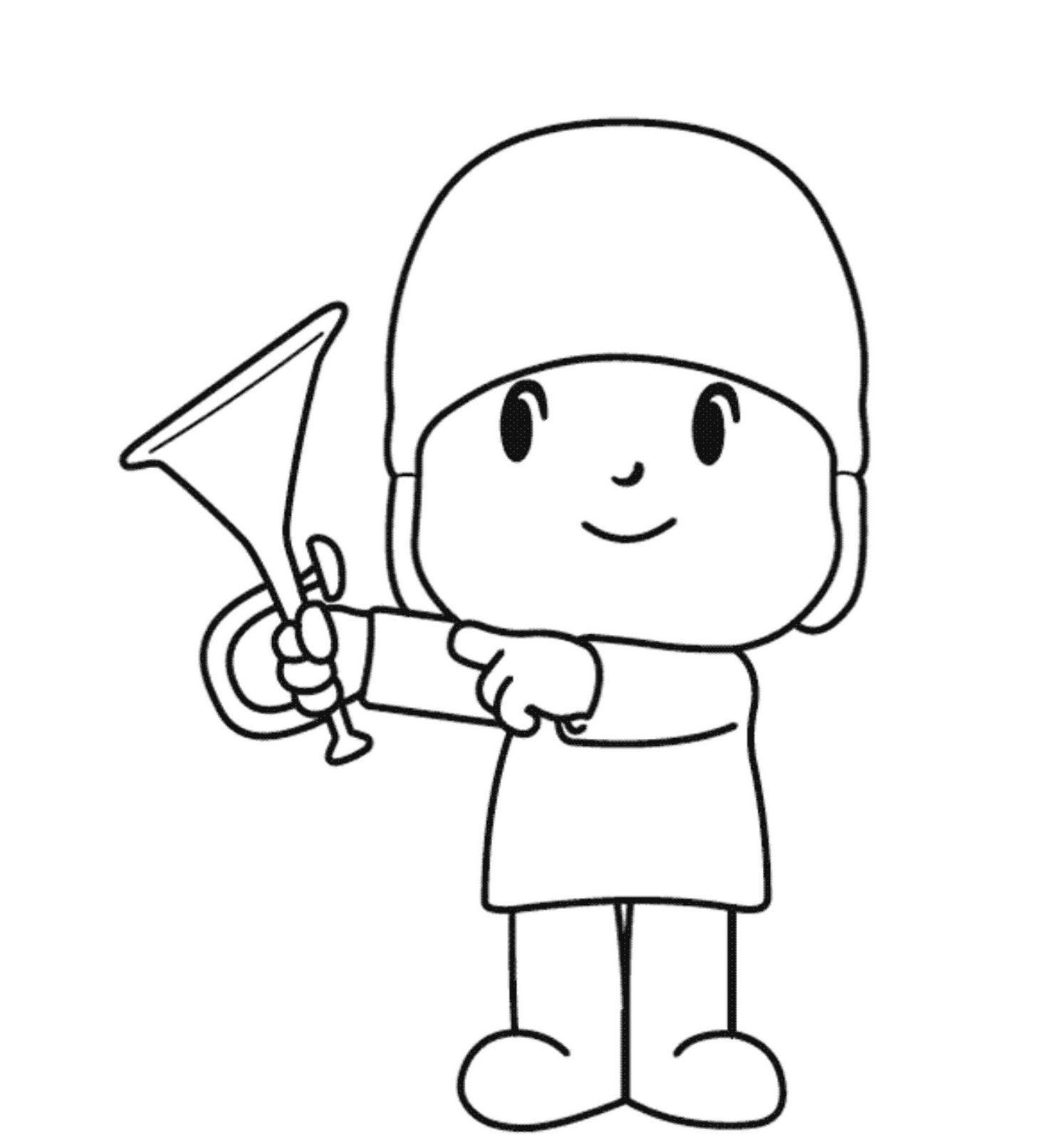 Pocoyo Coloring Pages Libri da colorare, Pagine da