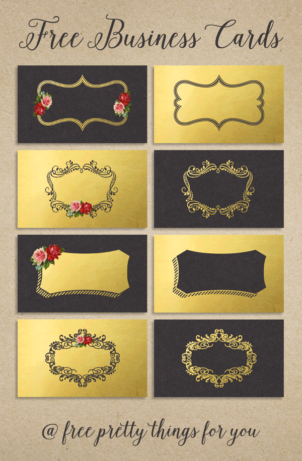 Business cards goldleaf and vintage roses vintage roses cards business cards goldleaf and vintage roses reheart Gallery