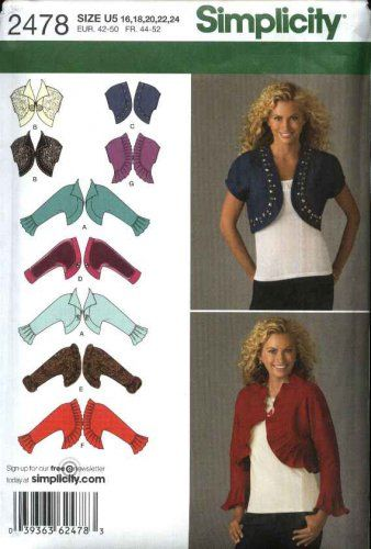 Simplicity Sewing Pattern 2478 Misses Sizes 6-14 Sleeveless Long ...
