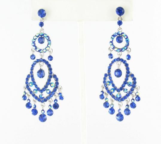 pageant earrings S-Sapphire  #lmbling #lmblingearrngs #lmblingblueearrings #lmblingstatementearrngs #pageantearrings #bluepageantearrings #lmblingchandelierearrings #chunkyearrings #pageantjewelry #promjewelry
