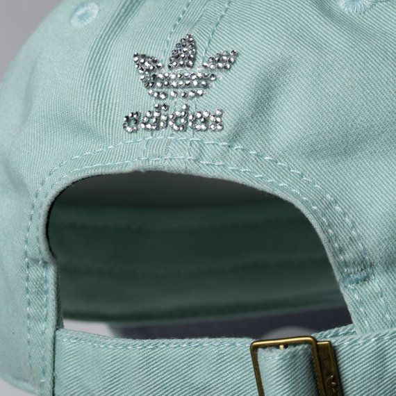 Mint Green Crystal Adidas Hat Baseball Cap Women Trending  7f72115c25f8