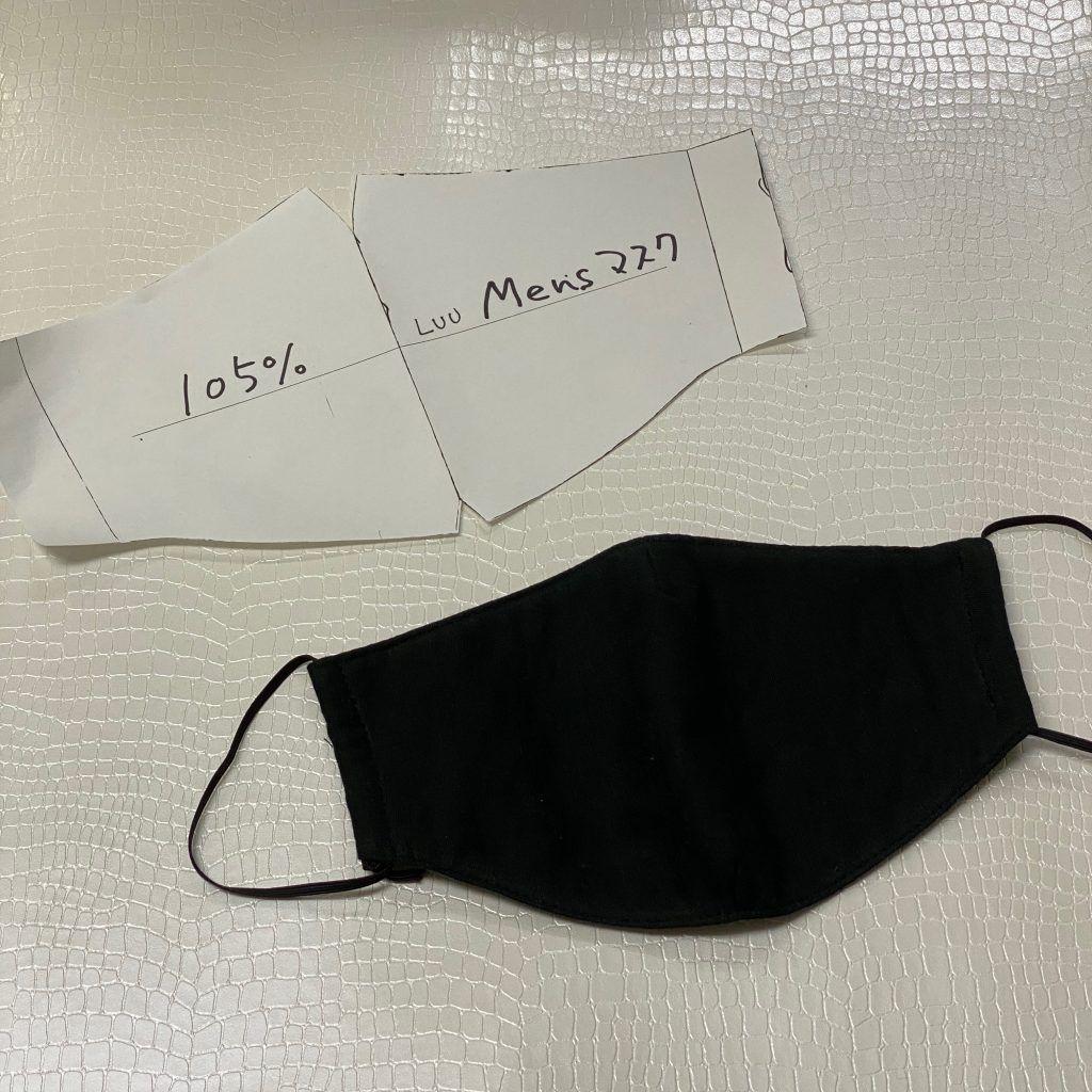 水着 素材 の マスク 作り方