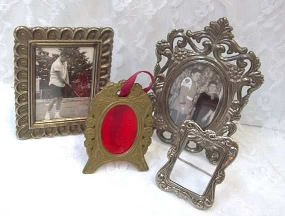 Miniature Frame Collection Very Small Metal Photo Frames | Fabulous ...