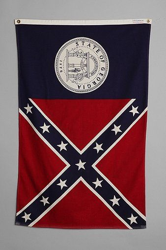 Vintage Georgia State Flag With Images State Flags Georgia State Georgia