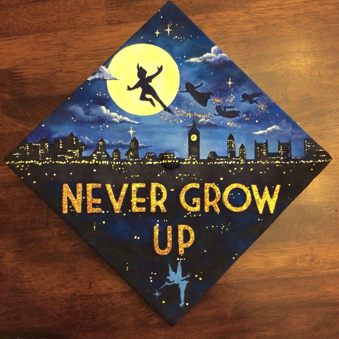 My graduation cap 2015 crafts pinterest disney for 2015 graduation decoration ideas