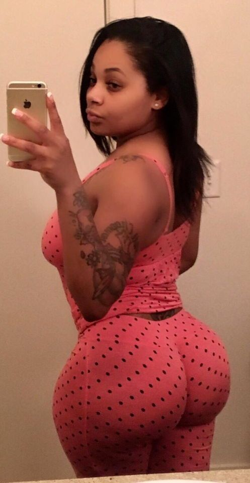 Black girl booty