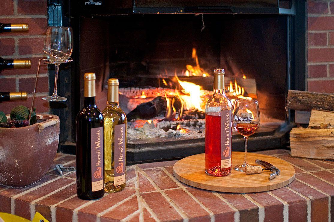 Tempfilenamehermit Woods Winery Media076 Wood Deck Wood Taper Candle