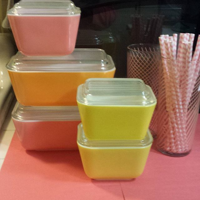 Instagram media marissagpolk - Being a Pyrex collector I have decided there are endless color combinations that are so beautiful !
