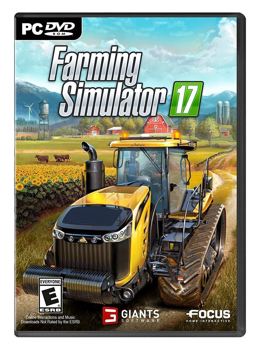 Farming Simulator 17 PreOrder For PC (Physical Disc