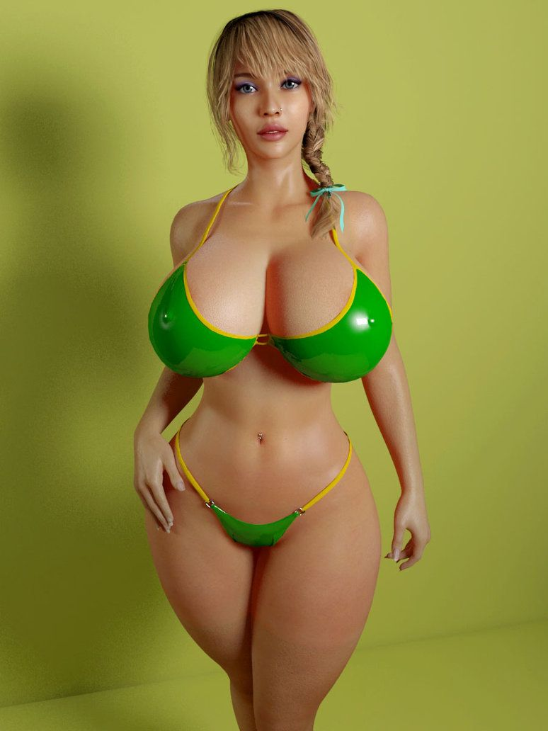 3d busty giants