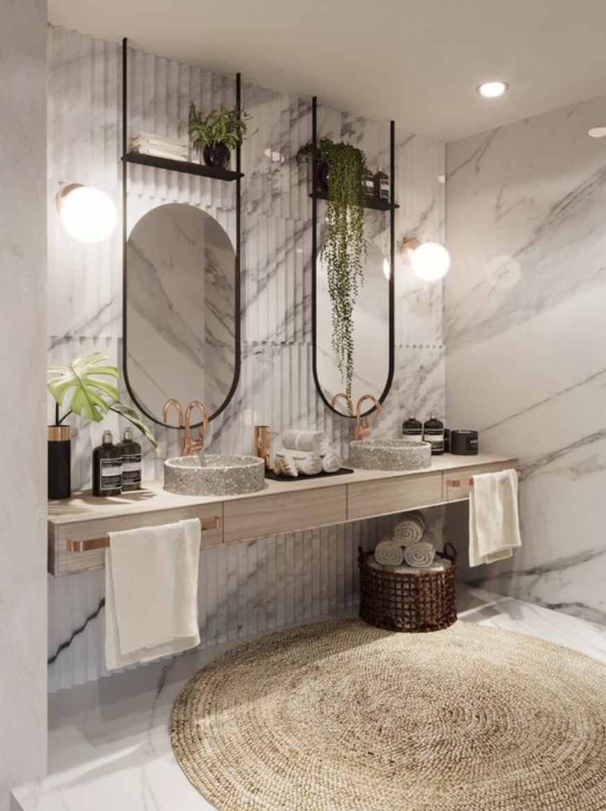 Luxury Bathroom Blog in 10  Bathroom interior, Marble interior