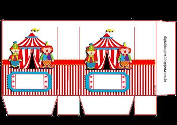 The Circus: Free Printable Candy Paper Bag. | Circus ...