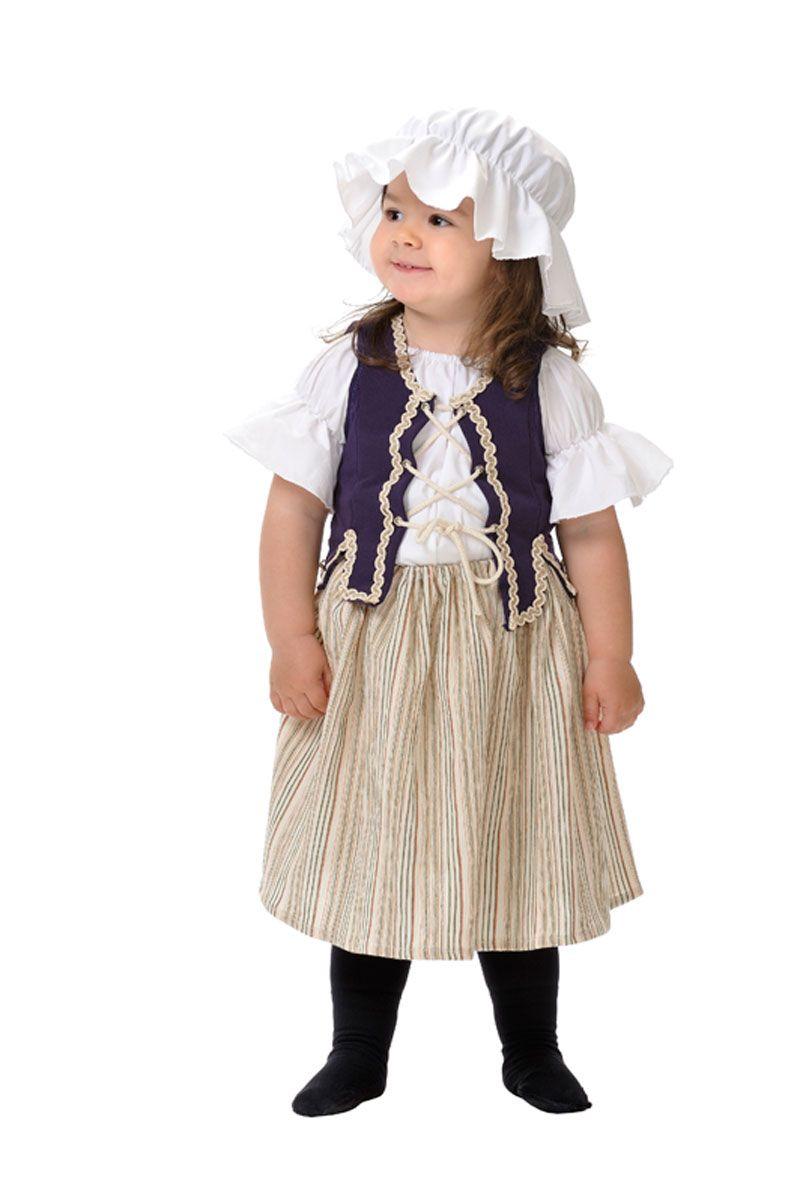 DisfracesMimo, disfraz de campesina medieval bebe 1 a 2 años.Carateriza muy bien el personaje de ...