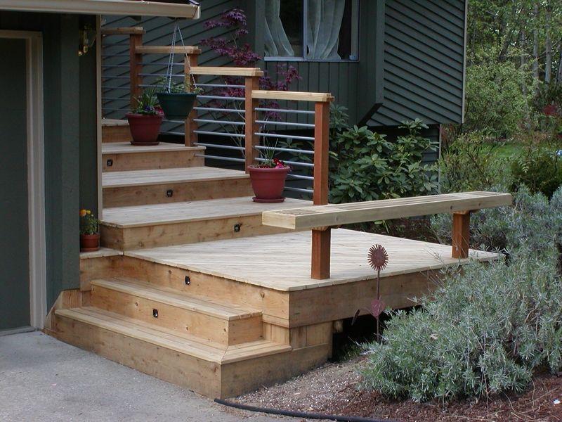 Nw Custom Deck Seattle 39 S Deck Builder Portfolio Building A Deck Deck Deck Builders