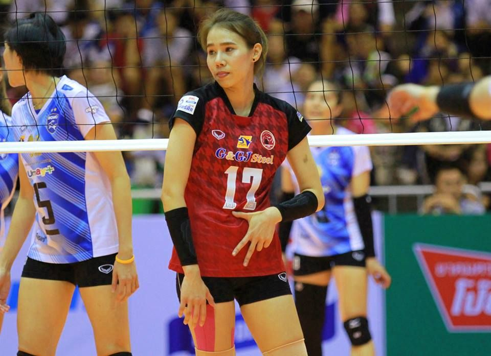 Pin On Avc Girls League List Thai Thailand Volleyball