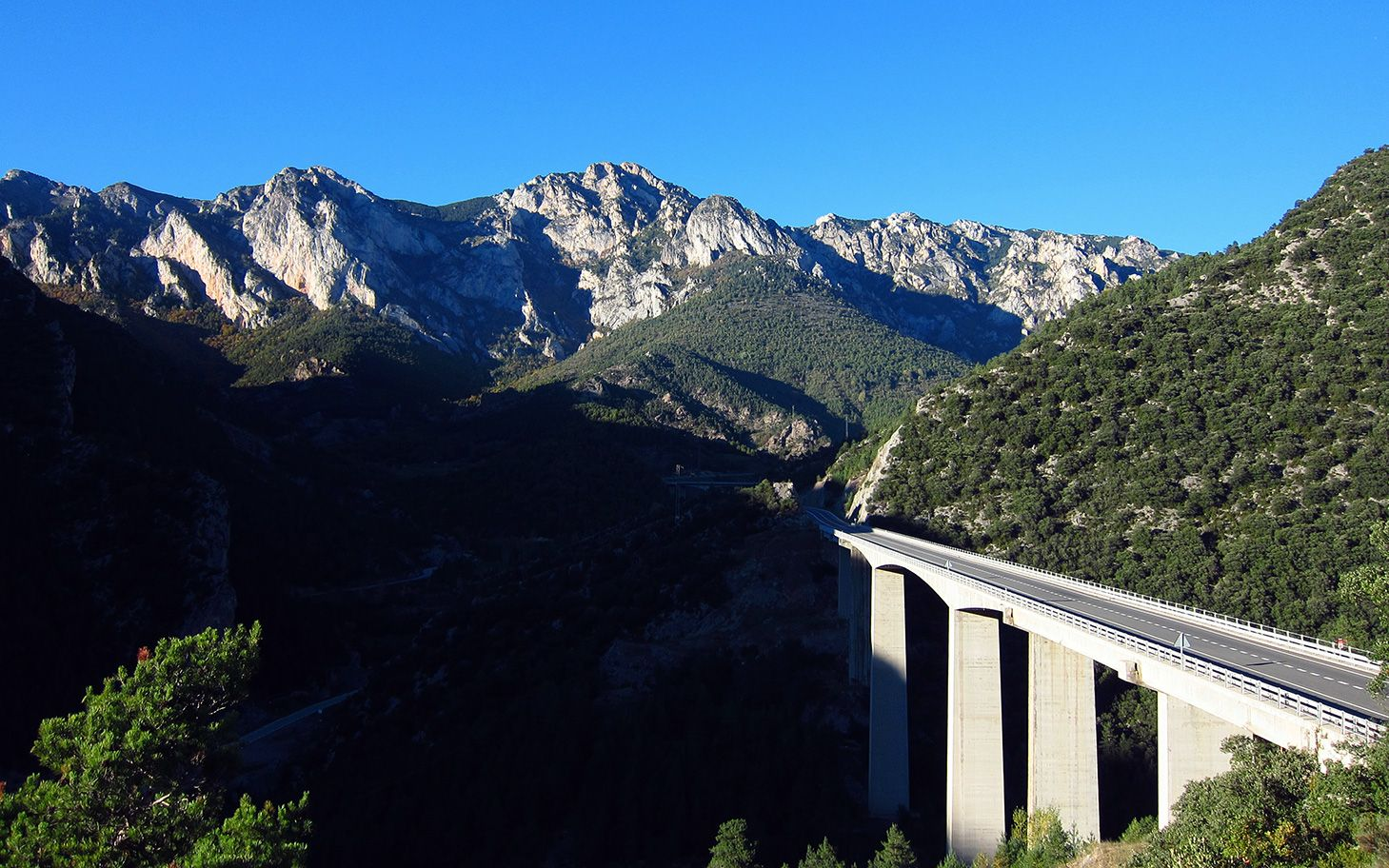 A bridge in the Pyrenees