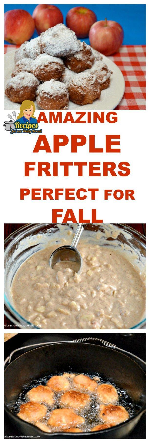 BEST Apple Fritters-TN   Recipe   Fall recipes