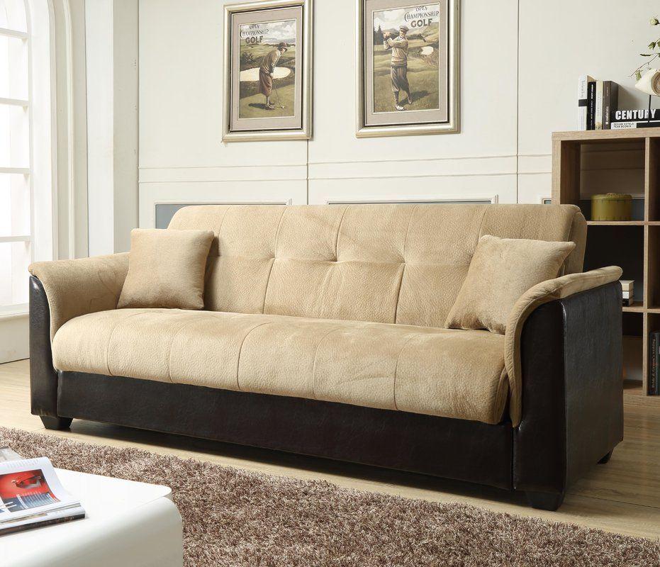 Convertible Sofa   Sofa bed with storage, Futon sofa ...