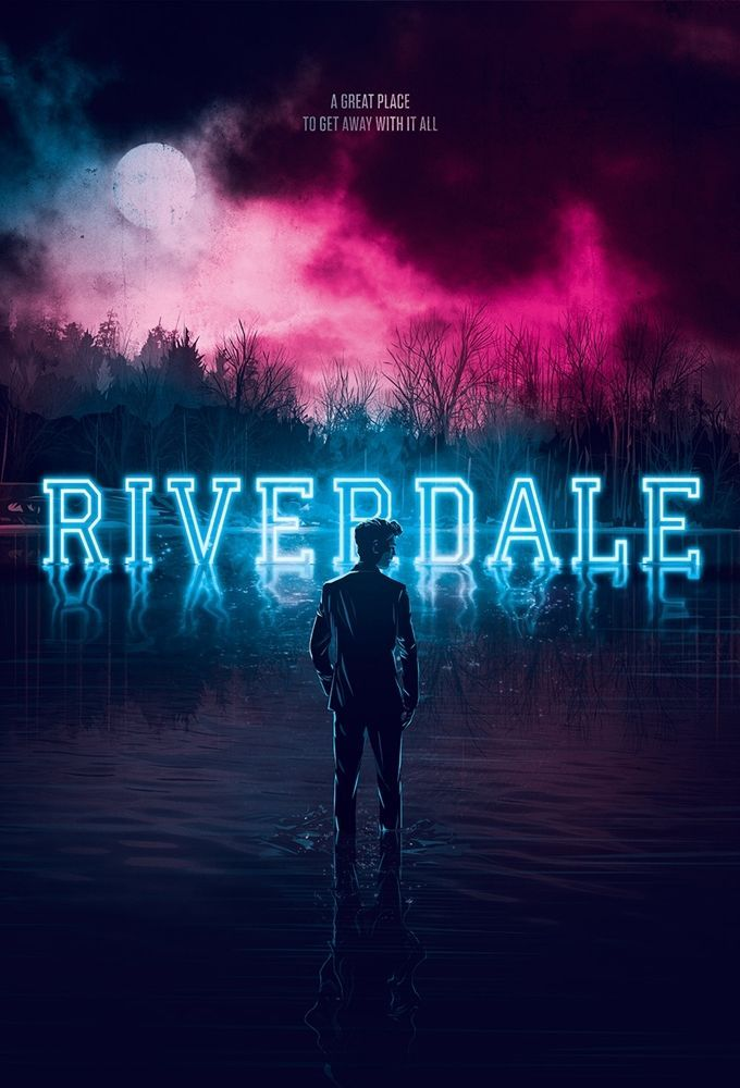 Riverdale – poster for the series with a lot of suction.