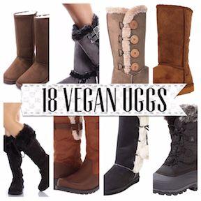 bottes style ugg vegan
