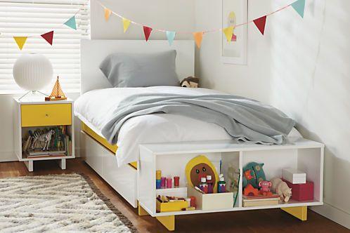 Room Board Moda Under Bed Storage Drawers Modern Beds