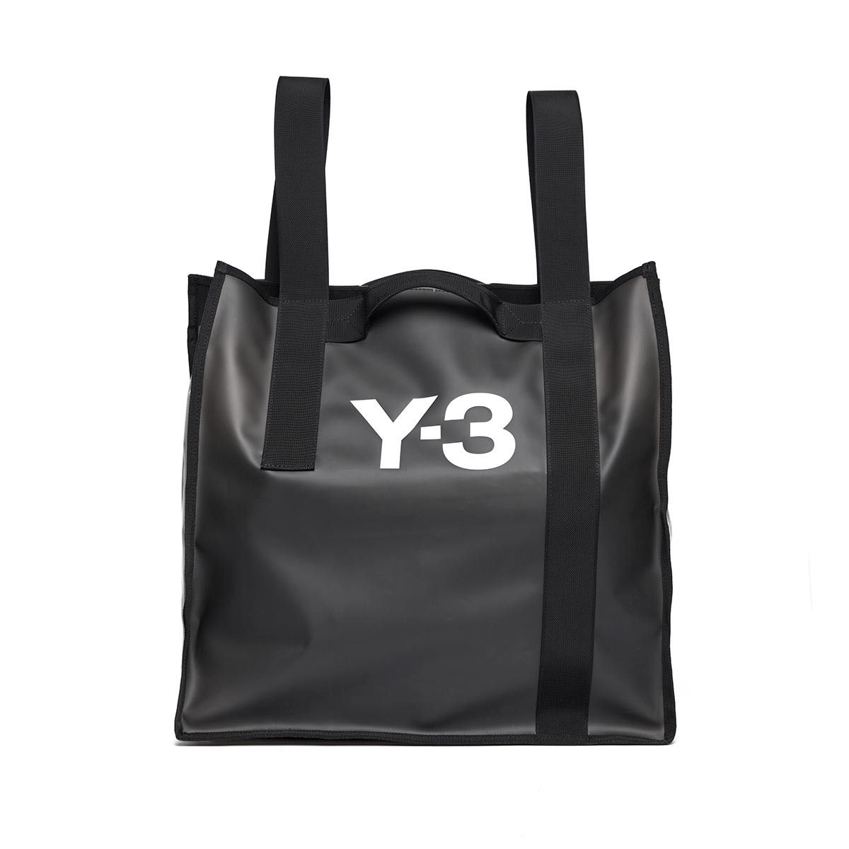 Beach bag from the S S2017 Y-3 by Yohji Yamamoto collection in black  Launched in 2002 4cedff2d89b38