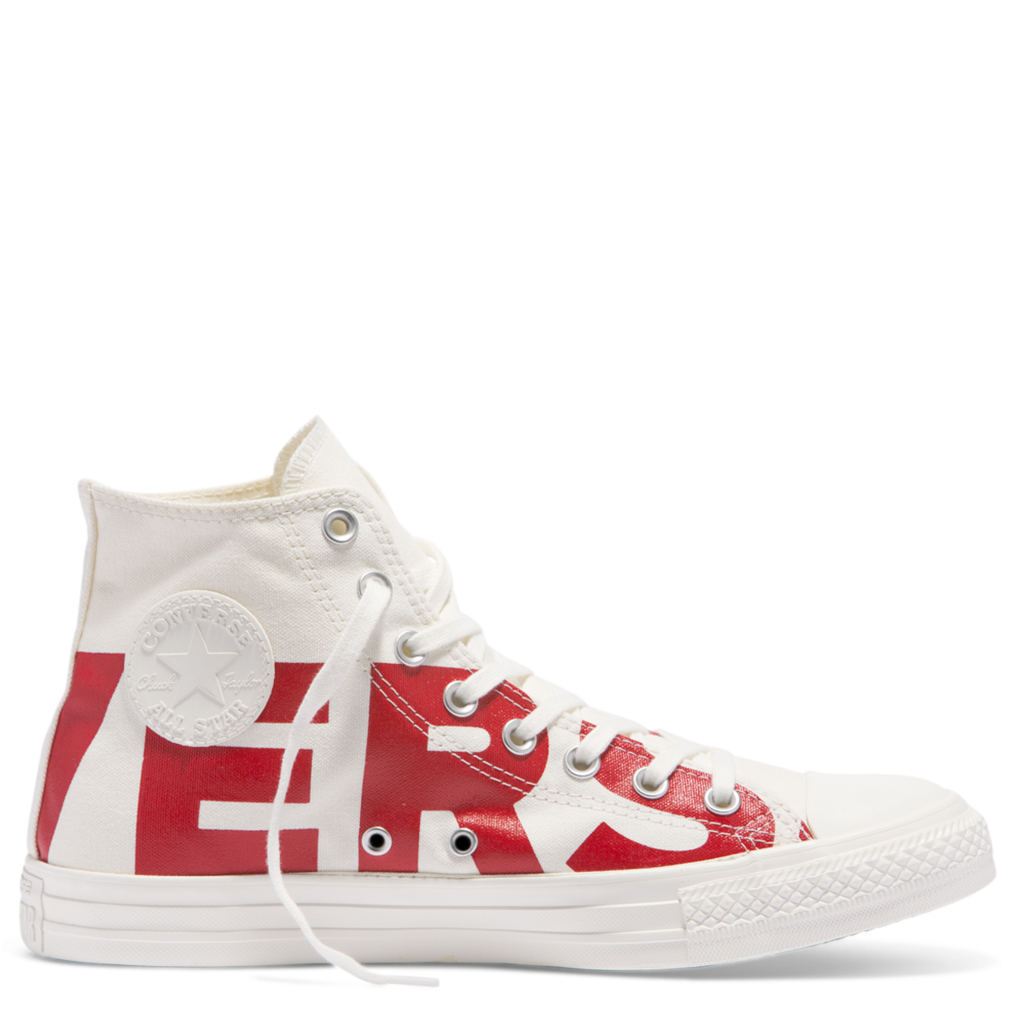 d50db7c29602 Converse Kids Chuck Taylor All Star Wordmark Toddler High Top Red ...