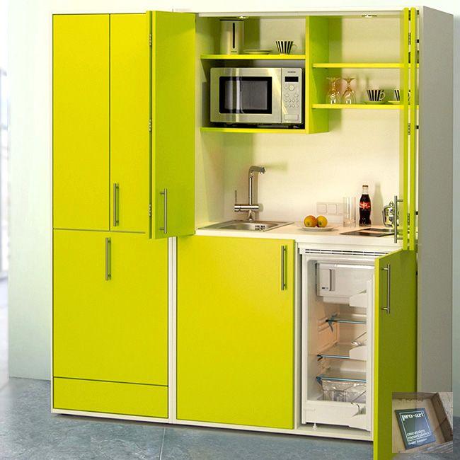 designLINE Schrankküche | Büroküche | Miniküche in Sommerfarben ... | {Schrankküche ikea 74}