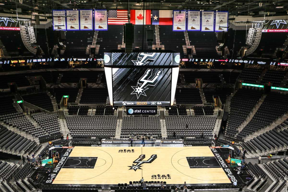 AT&T Center Sports arena, Sound system, Arena