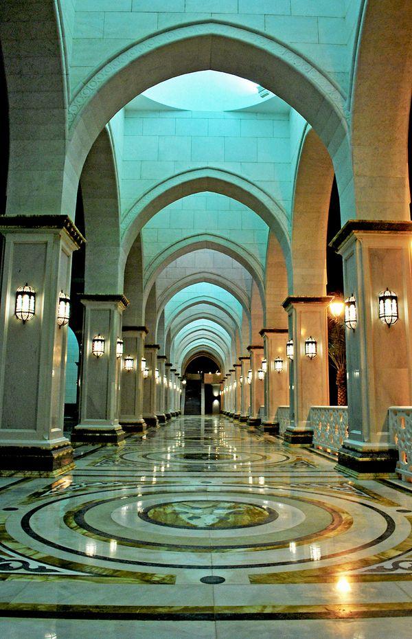 The main mosque at KAUST (King Abdullah University of