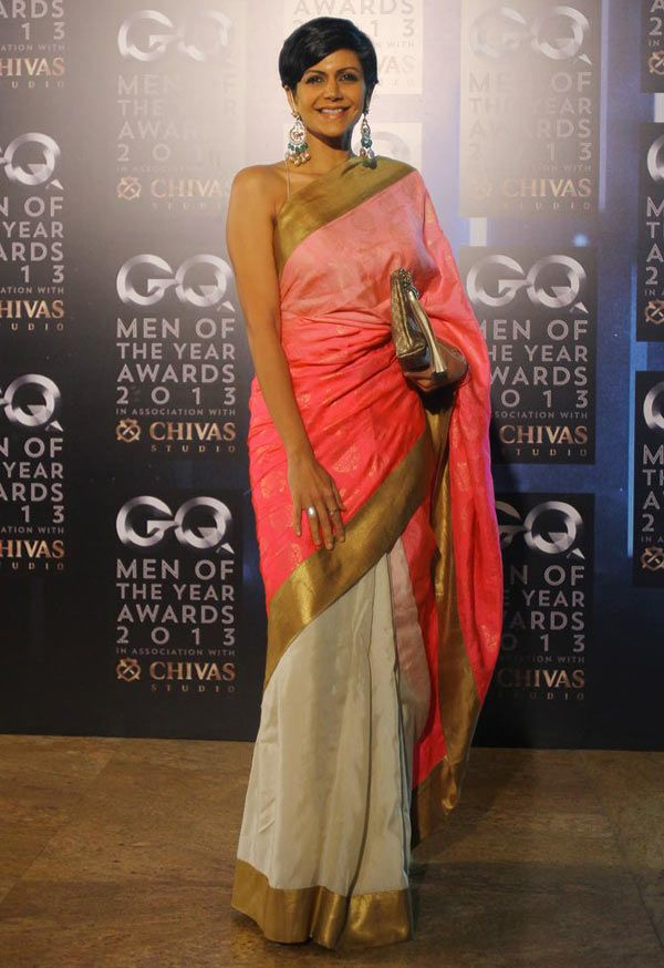 Birthday Special Taking Fashion Lessons From Mandira Bedi Glamour Pics Gq Awards Fashion