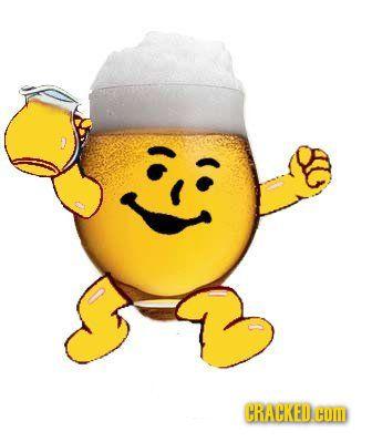 Oh Yeah Kool Aid Man All Grown Up Happy Beer Beer Humor Beer Memes