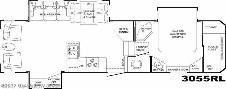 Mid State Rv Inventory Sofa Bed Hidden Bed Shower Storage