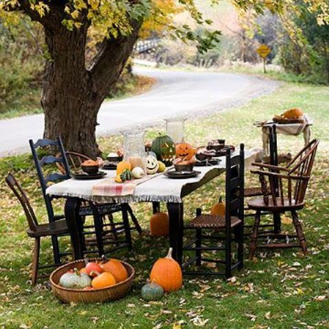 60 Awesome Outdoor Halloween Party Ideas Halloween Pinterest