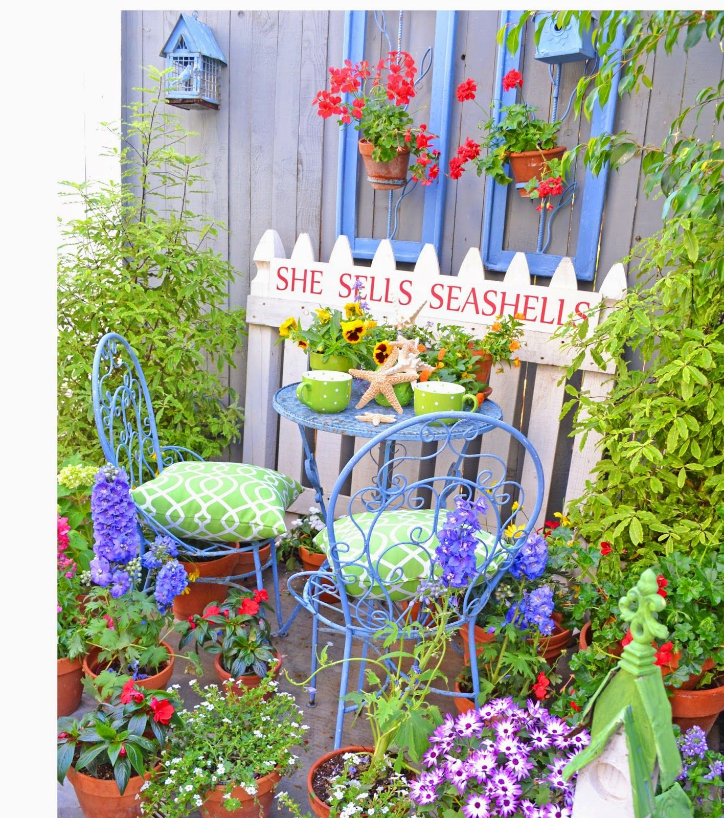 Nursery Decor Tour: Summer Garden, Garden Design, Garden