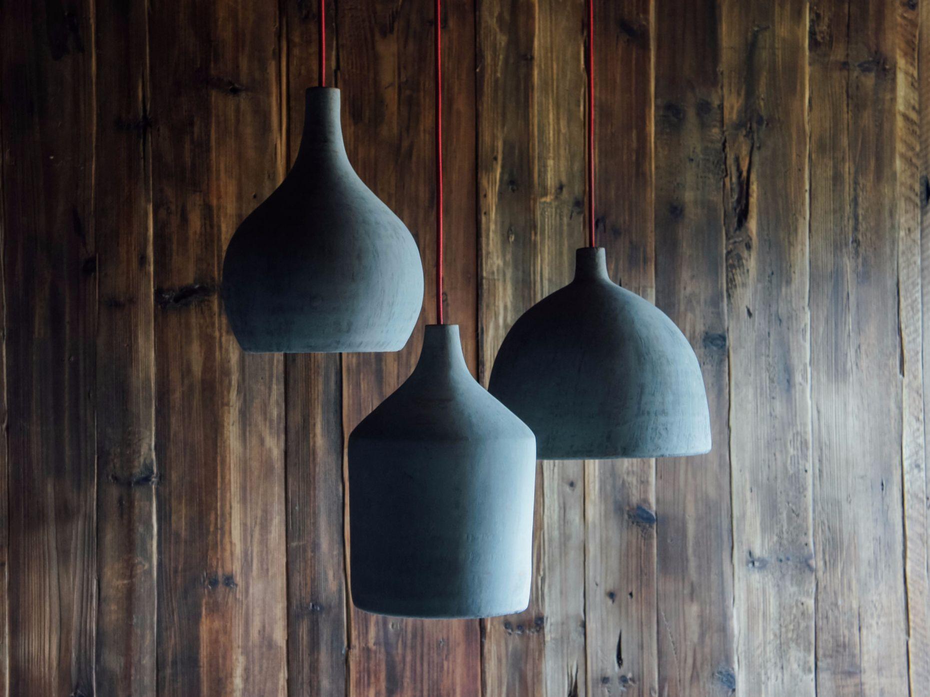 Lámpara colgante de cemento HORMIGON by NAMUH STUDIO