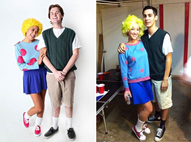 20 Couples Costumes for Kids of the u002790s via Brit + Co.  sc 1 st  Pinterest & 20 Couples Costumes for Kids of the u002790s | Pinterest | Costumes ...