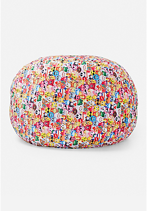 Emoji Collage Bean Bag Emoji Room Emoji Bedroom Emoji