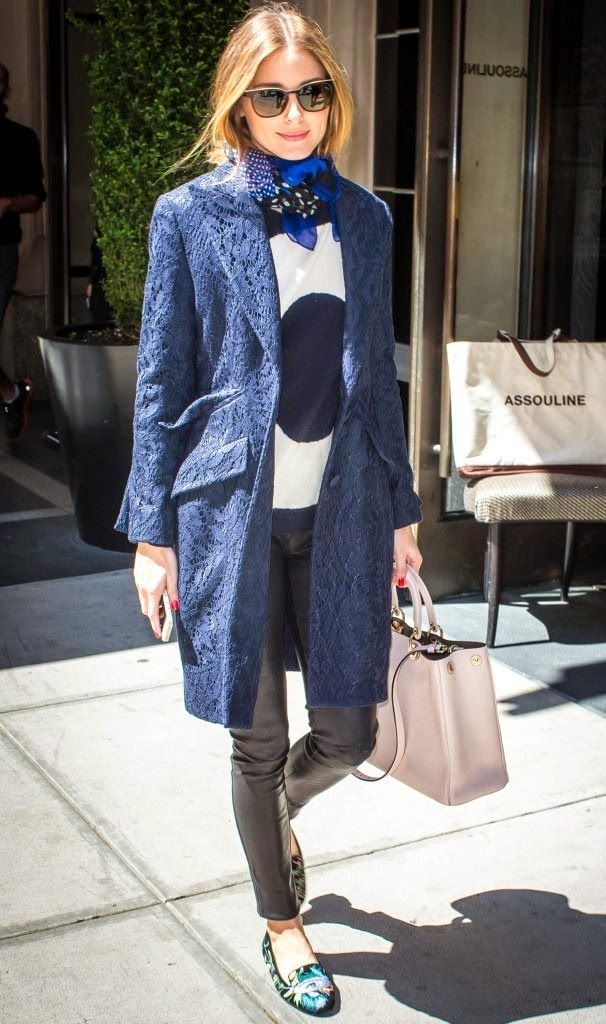 Olivia Palermo out in New York City - THE OLIVIA PALERMO LOOKBOOK
