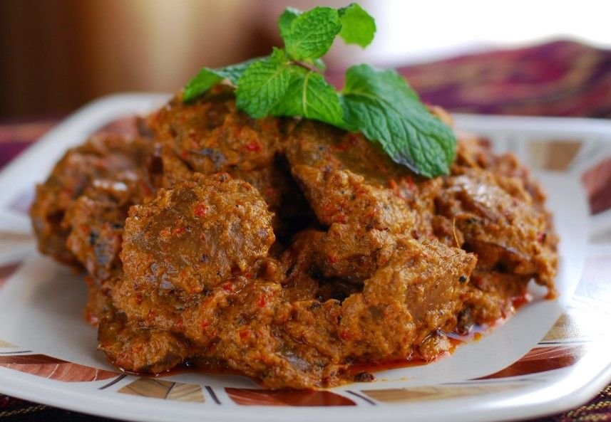 Cara Membuat Dan Resep Rendang Ayam Kering Resep Resep Masakan Masakan Indonesia