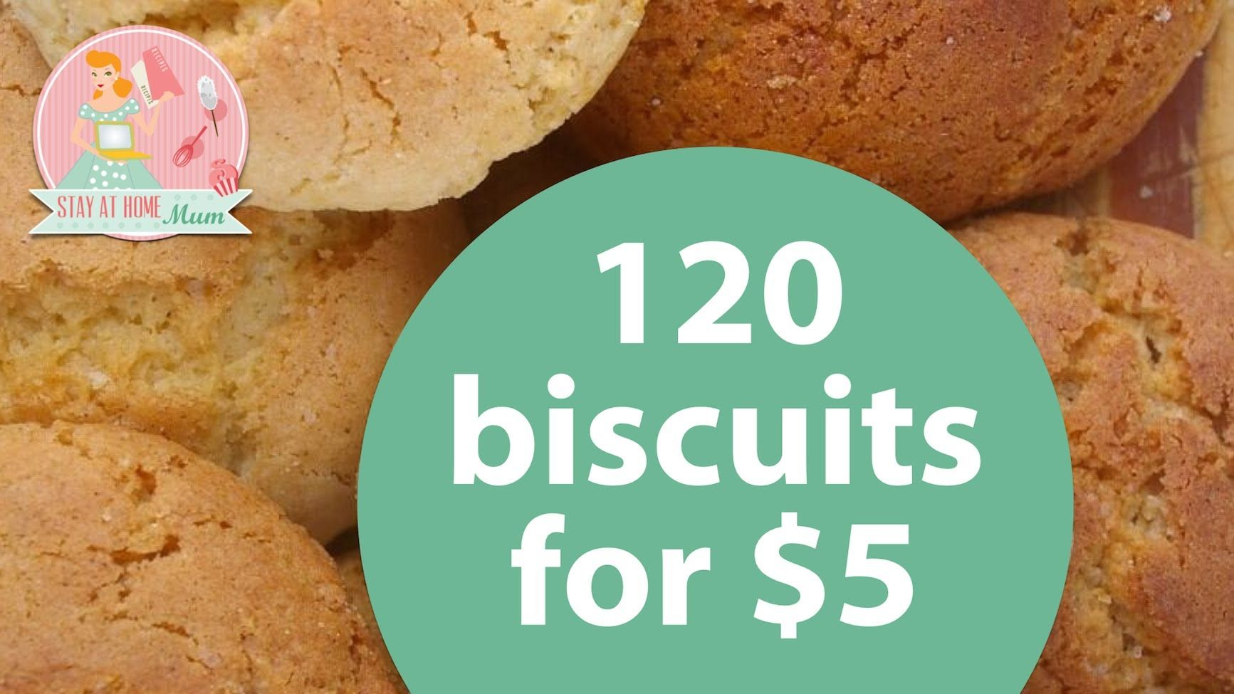 120 Biscuits Cookies For 5 Stay At Home Mum Recipes Biscuits Cookies Videos Cooking Bulk Biscuit Recipe Bicuit Recipe Condensed Milk Cookies