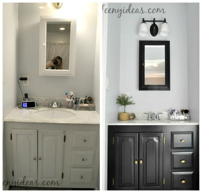Master Bath Refresh Before And After Home Deco Pinterest Cool Bathroom Refresh Decoration