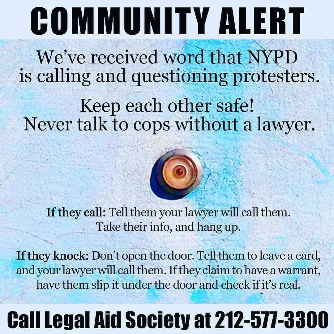 Via Decolonizethisplace Stay Alert Link In Takebackthebronx Bio For Know Your Rights Tips Witch Witchcraft Wic Covens Near Me Witch Coven Real Spells