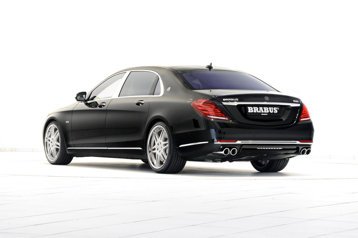 Photo of The Brabus Mercedes-Maybach S 600 is an Elegant 200+ MPH Rocket